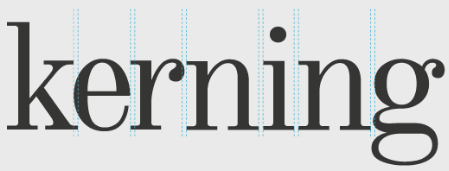 kerning در طراحی لوگو