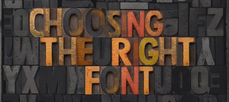 تایپوگرافی لوگو : روش های بهتر کردن تایپوگرافی لوگو ، بروشور و کارت تجاری