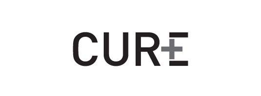 لوگو متنی شرکت Cure Life Products