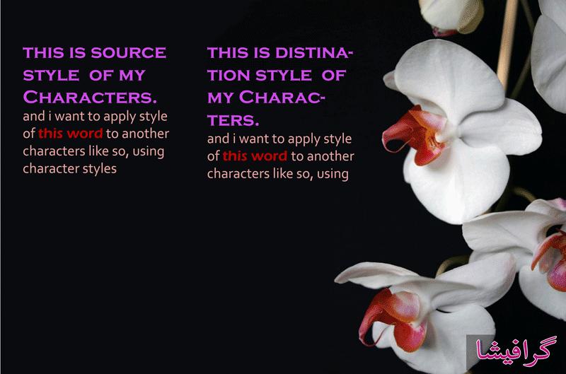 پنل character styles در فتوشاپ – Character Styles Panel