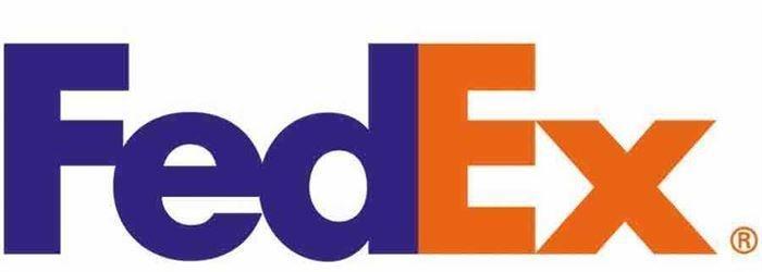 مفهوم لوگو شرکت fedex