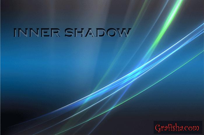 افزودن inner shadow به لایه ها در فتوشاپ – Inner Shadow Effect