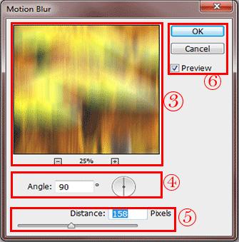 فیلتر motion blur فتوشاپ - motion blur filter