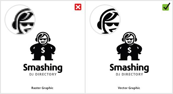 بررسی اشتباهات رایج طراحی لوگو