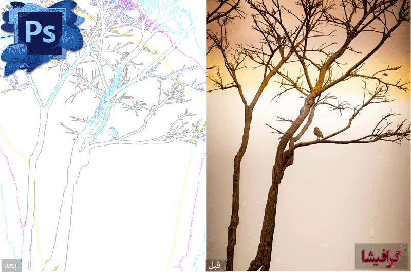 فیلتر trace contour در فتوشاپ – Trace Contour Filter