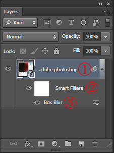 تدیل لایه به 3 قسمت بعد از اعمال smart filter